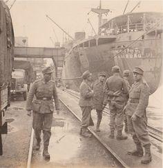 German soldiers at Danzig, world war two, kodak picture.