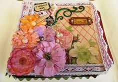 #52craftyprojects 32/52 - Scrapbookalbum