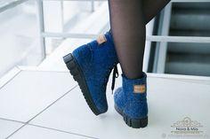 fc5a627f2 Купить Ботинки валяные женские Джинс в интернет магазине на Ярмарке Мастеров