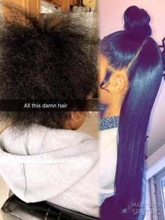 Wore this back in the day Black Girls Hairstyles, Weave Hairstyles, Straight Hairstyles, Love Hair, Gorgeous Hair, Curly Hair Styles, Natural Hair Styles, Hair Laid, Relaxed Hair