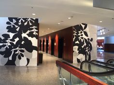 Project: Westin Peachtree Plaza Grand Scale Wall Painting - CODAworx