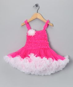 Another great find on #zulily! Pink Pageant Dress - Toddler & Girls by Royal Gem #zulilyfinds
