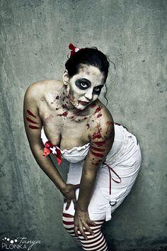 Zombie Pinups: Starsha | Blog | Photography & Design by Tanya Plonka