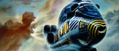Chris Foss - Turner spaceship