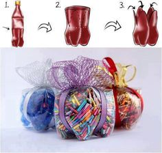 ideas y cosas para tus fiestas infantiles con botellas vasos y latas fiestas