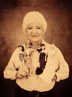 Ruth Handler and Barbie dolls