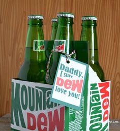 Mountain Dew Gift Tag