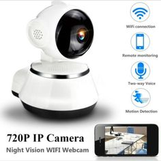 4MP Home Security HD 36LED IP Wireless Smart WiFi Audio Surveillance CCTV Camera