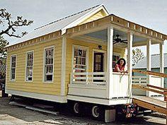 Yellow Katrina Cottage