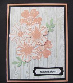 Hardwood Background stamp, Flower Shop Bundle