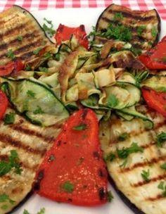 Gegrilde groente op Italiaanse wijze | Het lekkerste recept vind je op AllesOverItaliaansEten