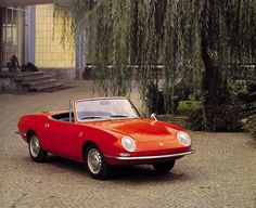 Fiat 850 Spider designed by Bertone, in production 1964-1973