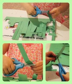 Work on fine motor skills with this fun spring scissor skills activity that is inspired by the book, In the Tall, Tall Grass. Your preschooler will LOVE cutting the grass to find what is hiding there! Preschool Cutting Practice, Cutting Activities, Fine Motor Activities For Kids, Preschool Learning Activities, Spring Activities, Preschool Activities, Preschool Lessons, Preschool Journals, Preschool Garden