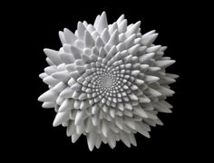 these 3D printed sculptures by artist john edmark mesmerize in their mathematical and mobile magnificence.