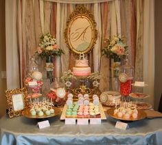 """Photo 1 of 16: Shabby Chic, Vintage Glam / Baby Shower/Sip & See """"Welcome to the World Baby Cruse"""" 