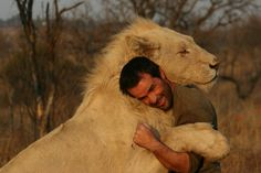 Lion Whisperer gets up close and personal with wild lions