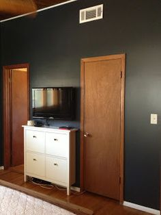 Paint Colors On Pinterest Benjamin Moore Paint Colors And Black Walls