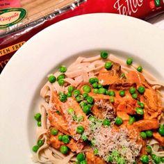 Chicken, Mushroom & Bacon Rizopia Pasta Recipe: https://traineatgain.com/chicken-mushroom-rizopia-pasta-recipe/