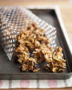 Cherry Pistachio Granola Bites (jpg image) | fliiby.com
