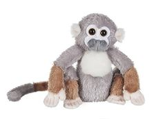 website kids games fun ganz stuffed animal unique celebrate toy children Webkinz Squirrel Monkey Plush Webkinz