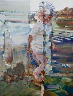Paintings 2012 - Torsnes oil on pvc, 150 x 113 cm Figurative Art, Impressionist, Paintings, Oil, Fictional Characters, Art, Paint, Painting Art, Impressionism