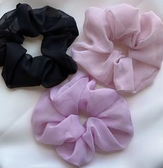 Excited to share the latest addition to my #etsy shop: Extra large chiffon scrunchie , oversized big scrunchie , bridesmaid proposal scrunchie pack , chiffon hair tie , black , pink , purple , #bridalshower #christmas #bohohippie #extralargechiffon #chiffonscrunchie #oversizedbig #bigscrunchie #bridesmaidproposal #scrunchiepack