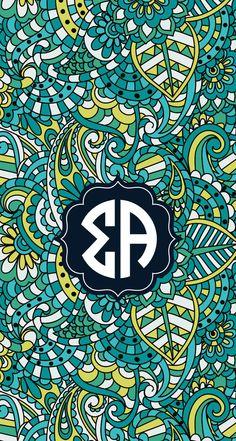 Sigma Alpha Wallpaper