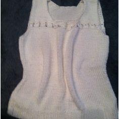 Combined Knit & Crochet Top