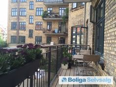 Skydebanegade 1, 1. th., 1709 København V - 3. vær. lejlighed med stor altan i hjertet af Vesterbro #andel #andelsbolig #andelslejlighed #kbh #københavn #vesterbro #selvsalg #boligsalg #boligdk