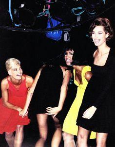 Linda, Cindy, Naomi, Christy (Versace 1991)