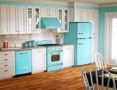 juliana goes | juliana goes blog | cozinha colorida | decoração cozinha | eletrodoméstico retro | eletrodomestico colorido