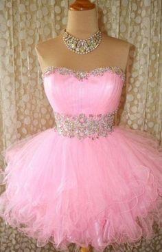 Pink Short Prom Dress
