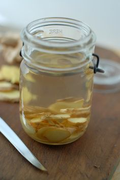 Ginger-Infused Vodka. I would use this in a Thai flavored cocktail, with lime, coconut or curry spice.