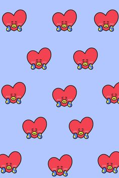 Bts Wallpaper, Wallpaper Backgrounds, Iphone Wallpaper, Bts Chibi, Taehyung, Hello Kitty, Veronica, Army, Icons