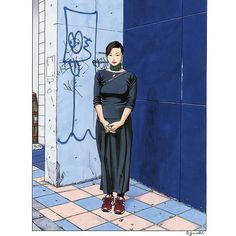 いいね!1,592件、コメント6件 ― 江口寿史 EGUCHI HISASHIさん(@eguchiworks)のInstagramアカウント: 「Oct.1999 #illustlation #artwork #bandedessinee #comicart」