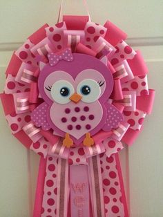 Hey, I found this really awesome Etsy listing at https://www.etsy.com/listing/208539844/its-a-girl-owl-baby-shower-wreath-its-a::