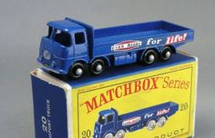1959 ERF Truck - Gallery: The 50 Coolest Matchbox Cars   Complex
