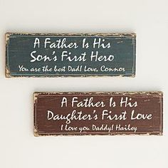 Fathers gift: First Memories Canvas – Hero/Love and other at PersonalCreations.com
