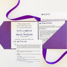 Cara Couture Invitations offers personalized hand crafted invitations for weddings and events. Couture Wedding Invitations, Purple Wedding Invitations, Castles In Ireland, Perfect Timing, Kinds Of People, Celtic Knot, Touring, Knots, Marriage