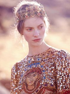 A modern day way to wear a crown.