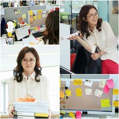 Kim Mi Young (Jang Nara), the master of odd jobs, is shown being a paper pusher in newly published Fated to Love You stills. It looks like to keep up with the demands of her contract job at … Contract Jobs, Jang Nara, Fated To Love You, Korean Drama Series, Love You Images, Jang Hyuk, One Night Stands, Next Week, First Night