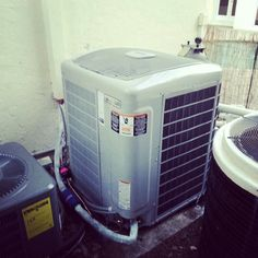 Carrier Infinity greenspeed air conditioning system installed in Pompano Beach, FL