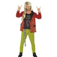 4262f54b6e4f5 Smiffys 80s Rock Star - £29.99 - A great collection of Smiffys 80S Rock Star