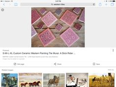 Guest Bathrooms, Master Bathroom, Leather Carving, Tile Murals, Tiles, Ceramics, Painting, Image, Home Decor