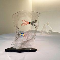 László Moholy-Nagy, plexiglass sculptures •