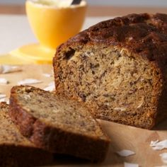 Banana Bread with Coconut, a match made in heaven!