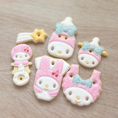 #icing #icingcookies #cookies #cookieart #customcookies #decoratedcookies #babyshower #babyshowercookies #收涎餅 #mymelody
