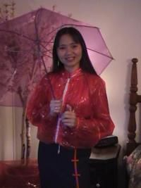 Jelly Jacket. I had several colors of these in 8th grade. I thought I was so cool.