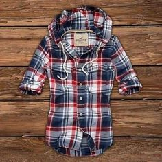 Hollister Bettys Hooded casual Shirts IT Barrel Racing Outfits, Casual Shirts, Plaid Shirts, Flannels, Plaid Hoodie, Hoody, Hollister Mens, Check Shirt, Cute Outfits