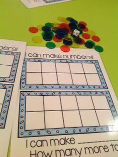 Teachable Moments: I can make numbers!